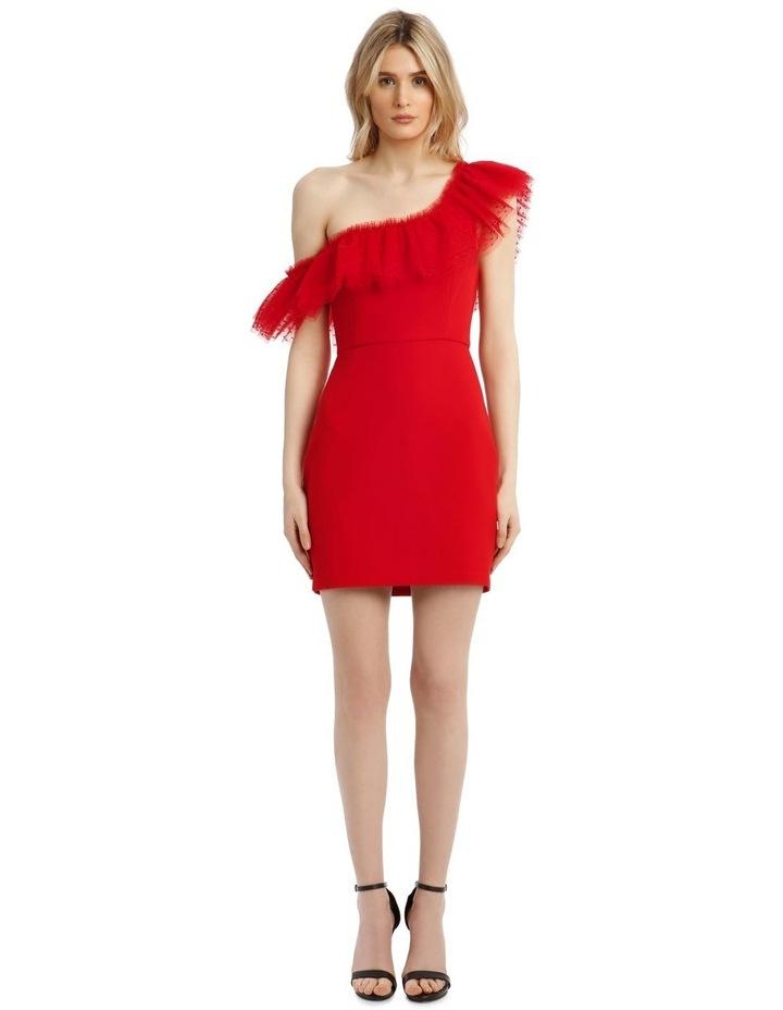 Eve Off-Shoulder Tulle Mini Dress image 1