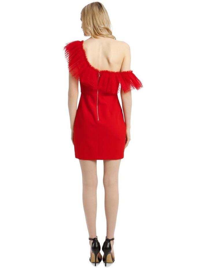 Eve Off-Shoulder Tulle Mini Dress image 3