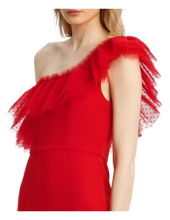 Eve Off-Shoulder Tulle Mini Dress image 4