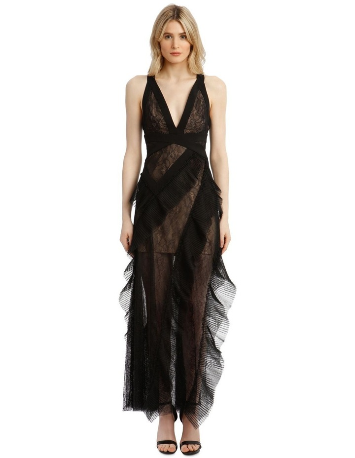 Eve Asymmetrical Contrast Dress image 1