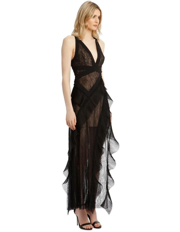 Eve Asymmetrical Contrast Dress image 2