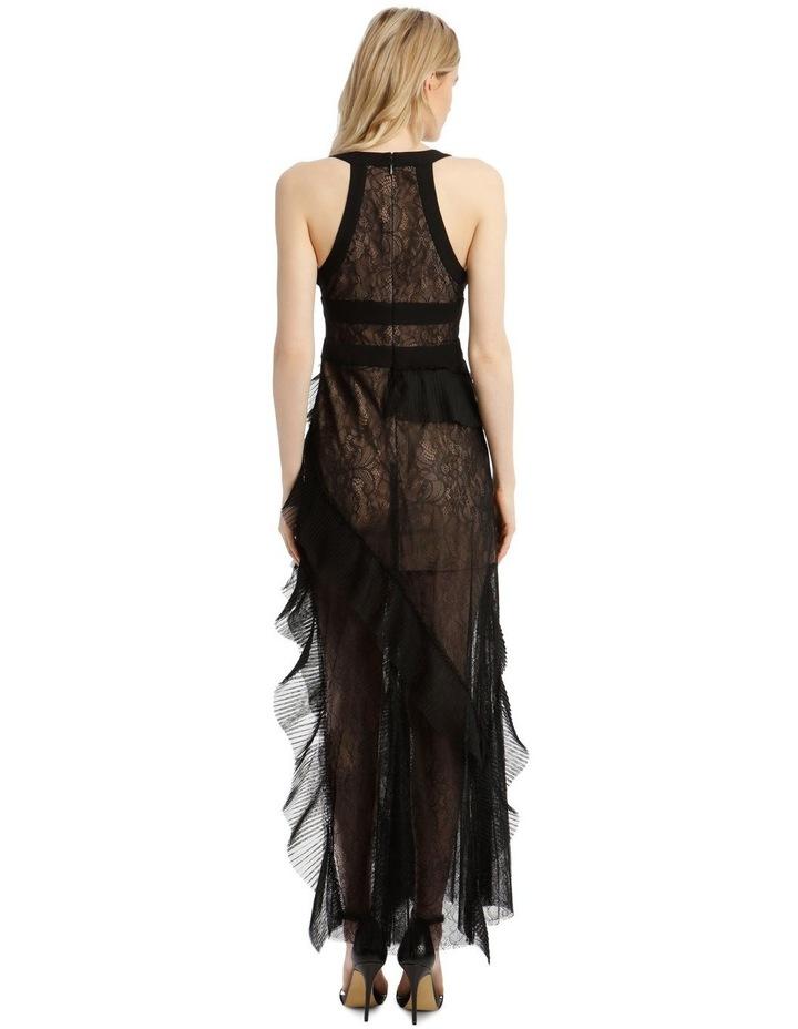 Eve Asymmetrical Contrast Dress image 3