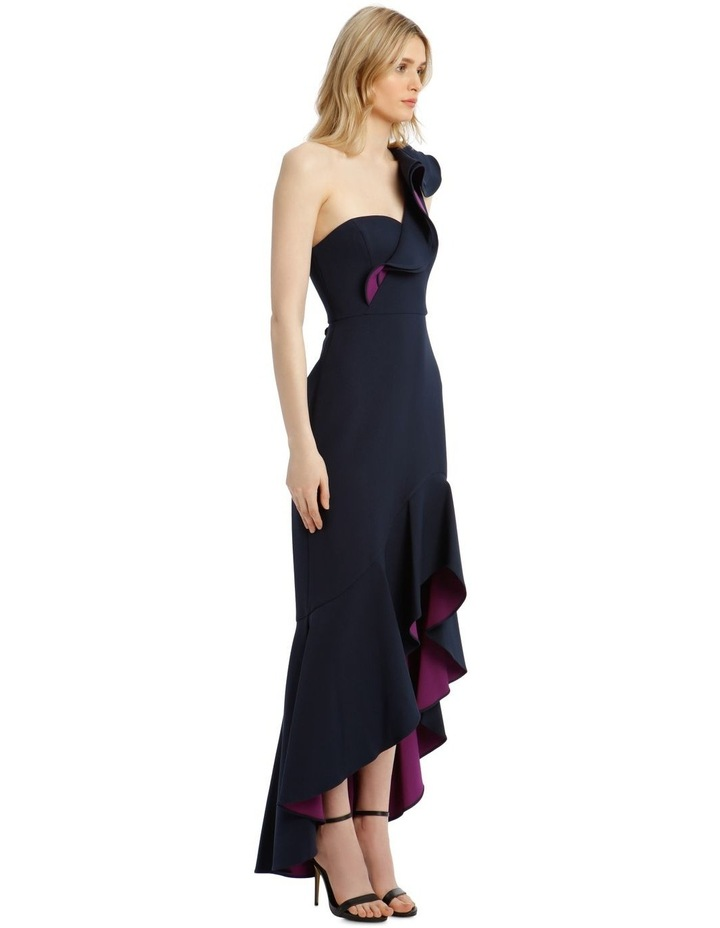 Eve Single-Shoulder Asymmetrical Ruffle Dress image 2