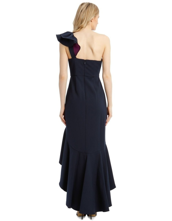 Eve Single-Shoulder Asymmetrical Ruffle Dress image 3