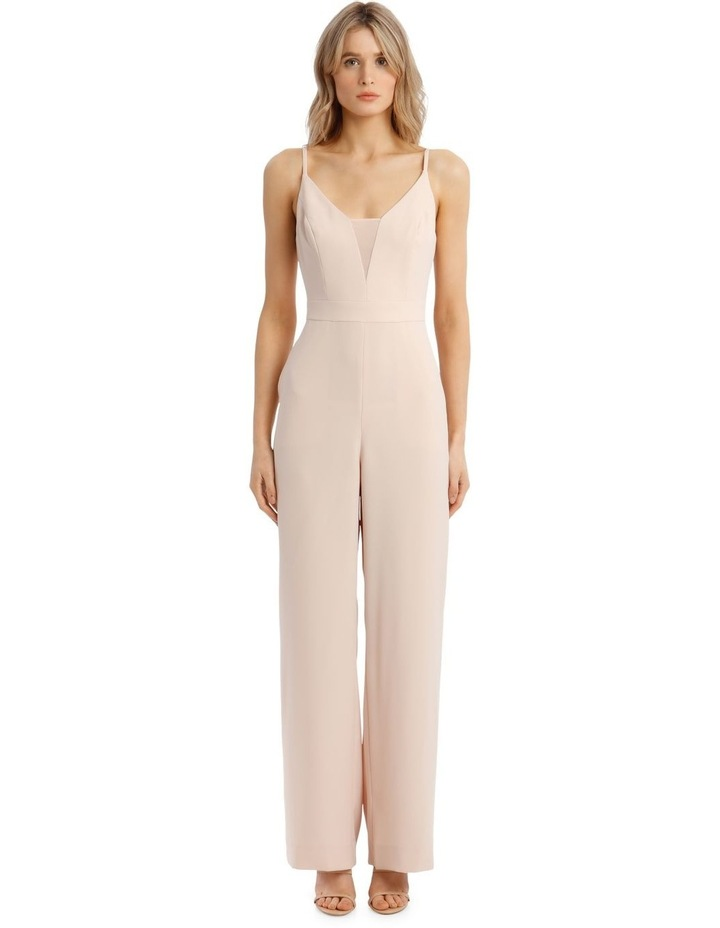 Wide-Leg Sleeveless Woven Jumpsuit image 1