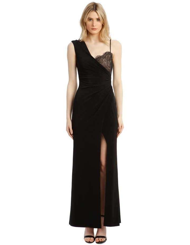 Eve Contrast Wrap Dress image 1