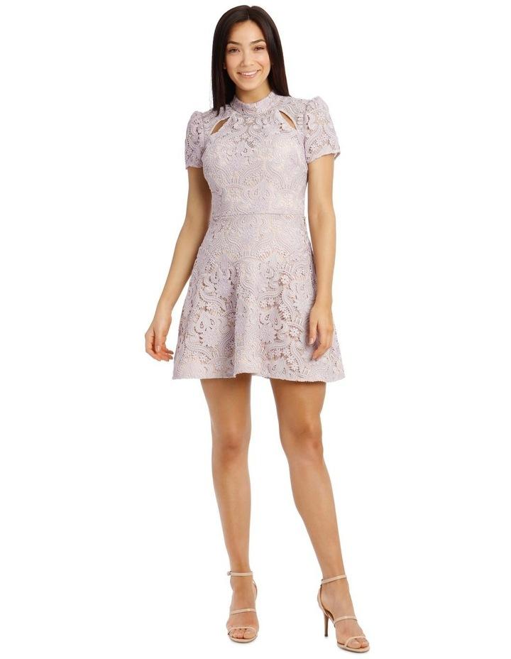 Lindsey Lace Sleeve Mini Dress image 1