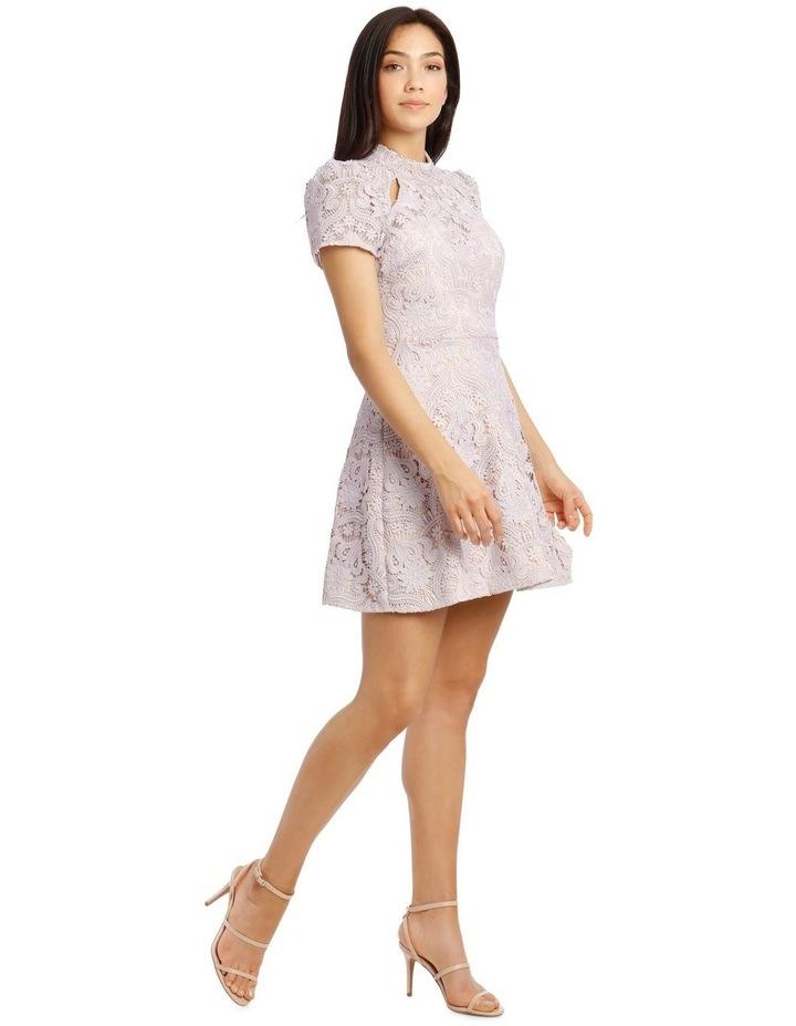 Lindsey Lace Sleeve Mini Dress image 2