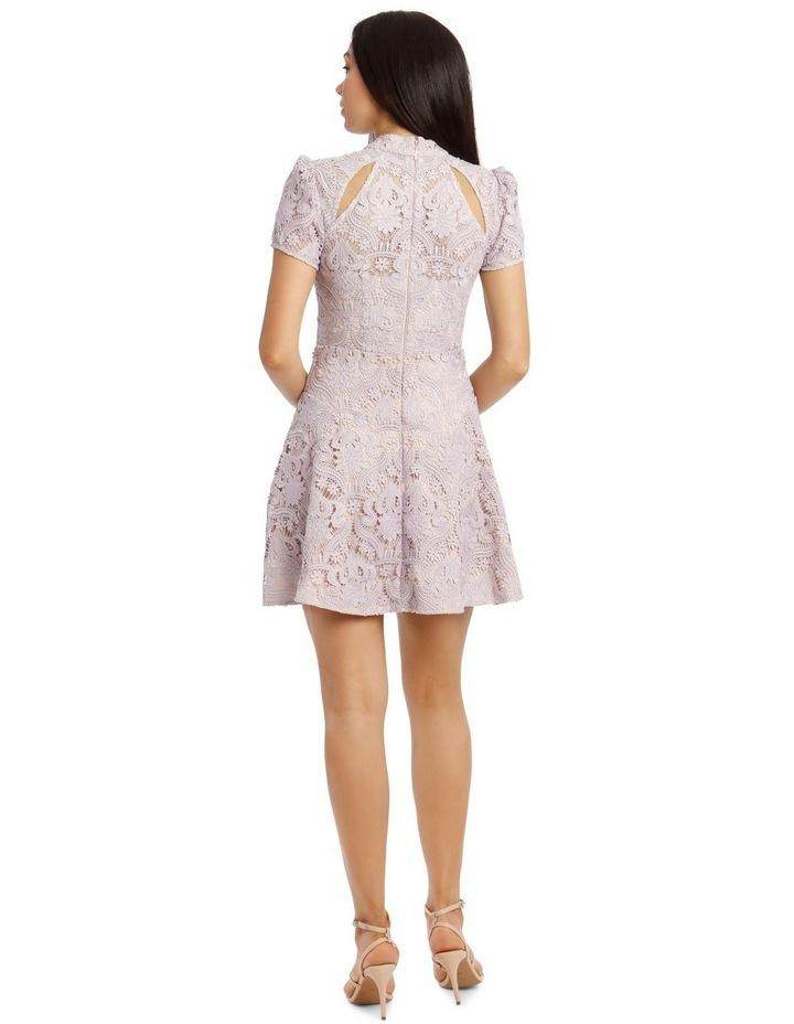 Lindsey Lace Sleeve Mini Dress image 3