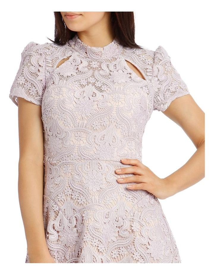Lindsey Lace Sleeve Mini Dress image 4