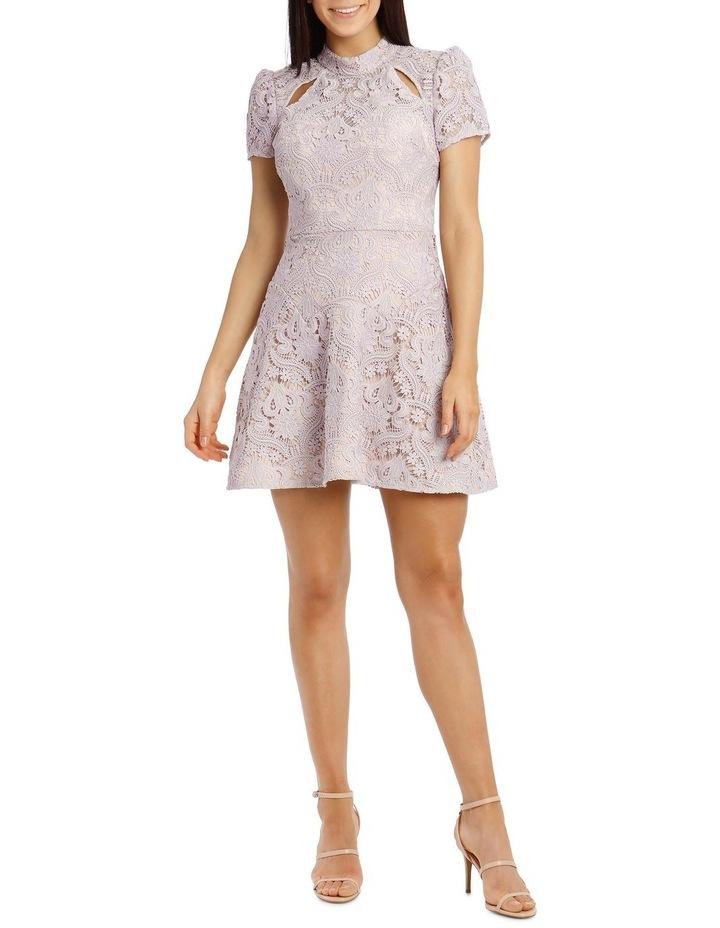 Lindsey Lace Sleeve Mini Dress image 5