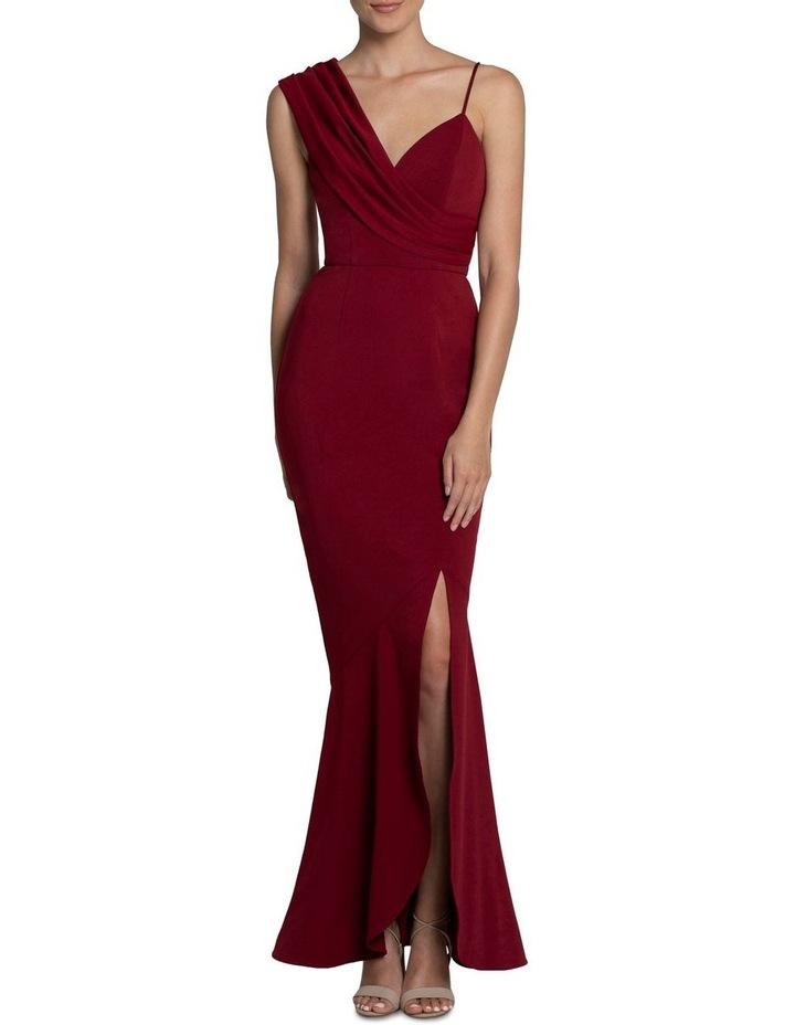 Jennifer Drape Shoulder Gown image 1