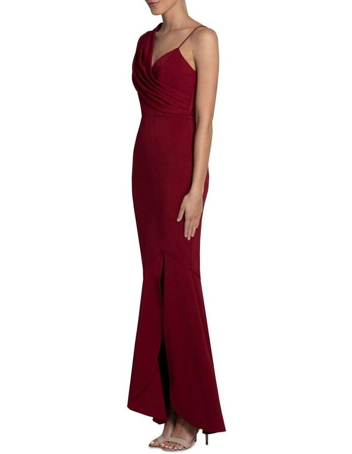 Jennifer Drape Shoulder Gown image 2
