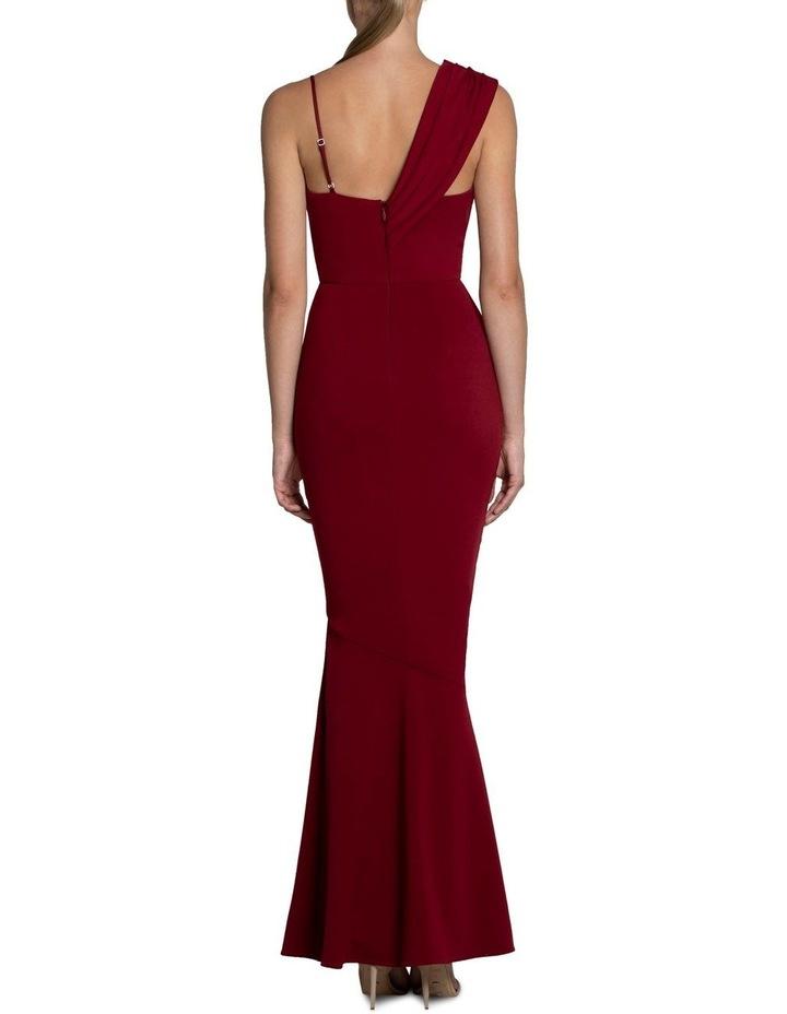 Jennifer Drape Shoulder Gown image 3
