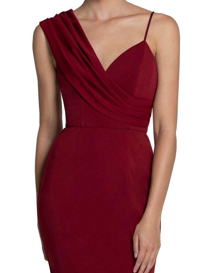 Jennifer Drape Shoulder Gown image 4