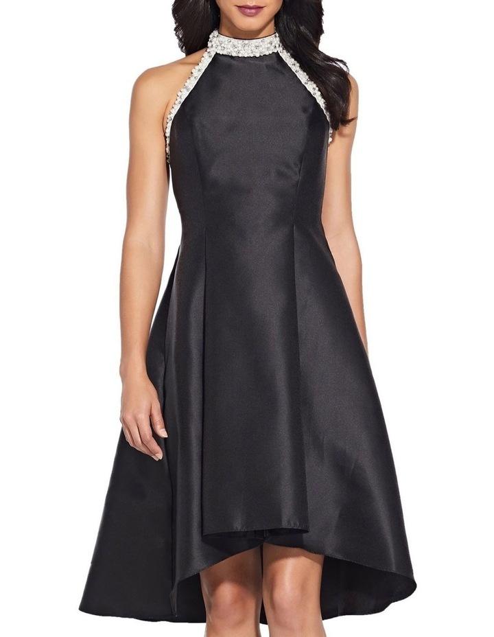 Beaded Hi Low Shoulder Dress image 1