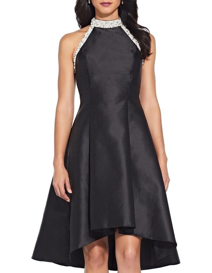 Beaded Hi Low Shoulder Dress image 2