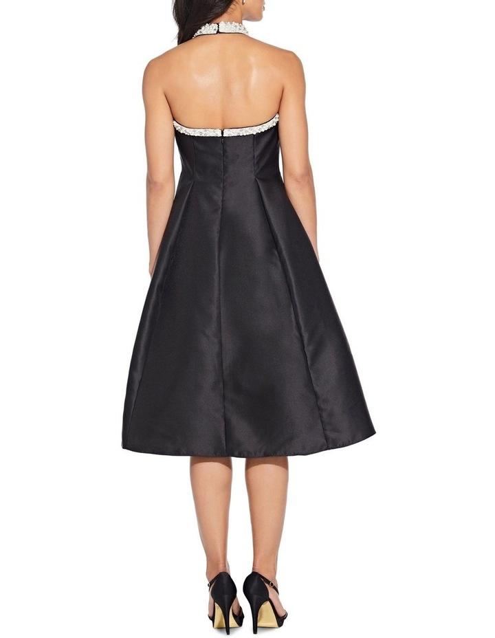 Beaded Hi Low Shoulder Dress image 3