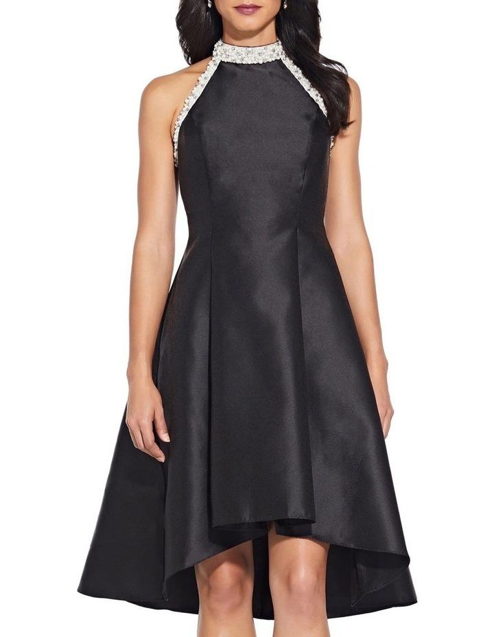 Beaded Hi Low Shoulder Dress image 4