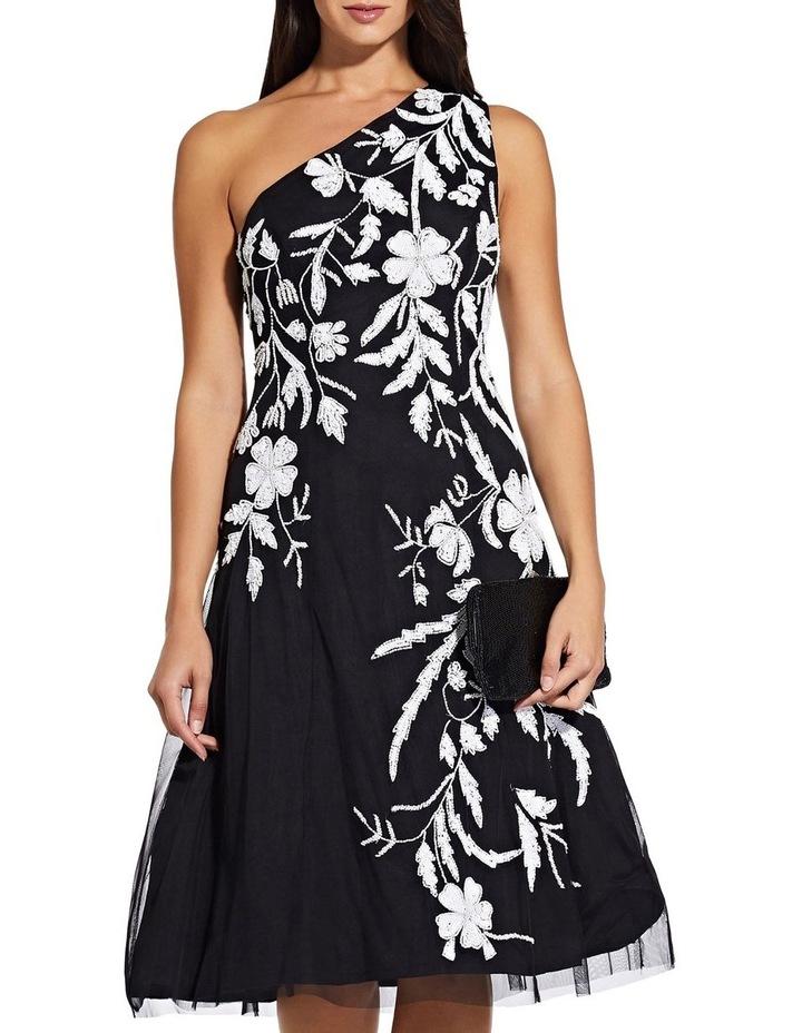 Beaded One Shoulder Dress image 2
