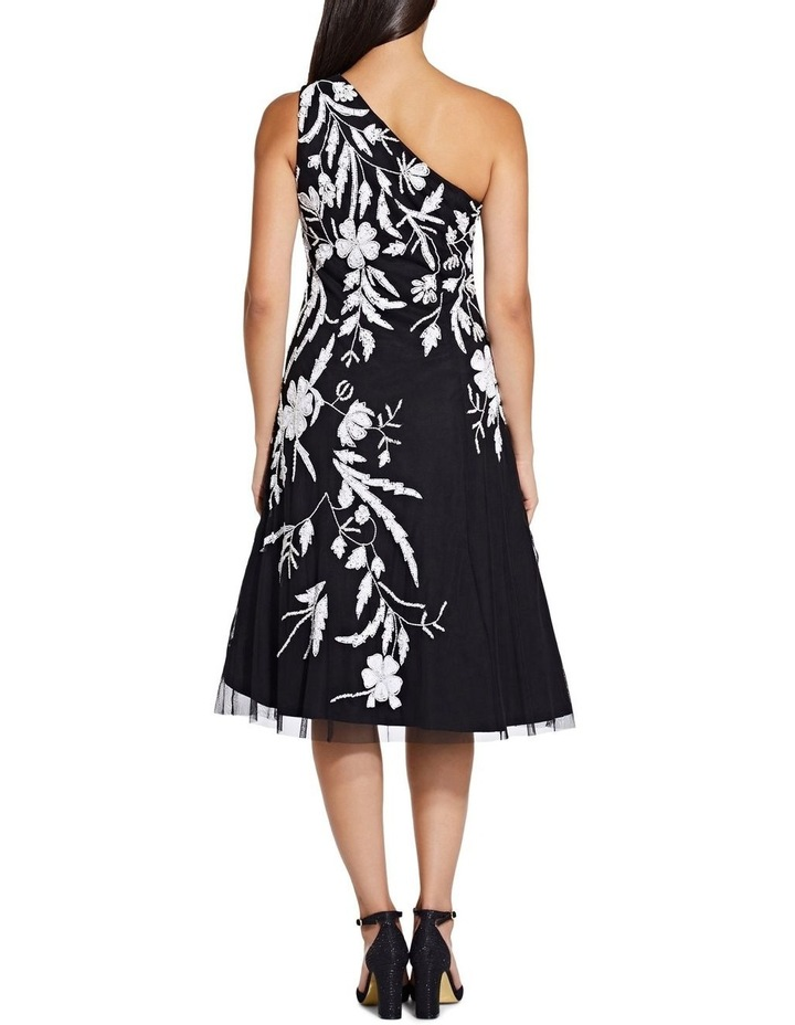 Beaded One Shoulder Dress image 4