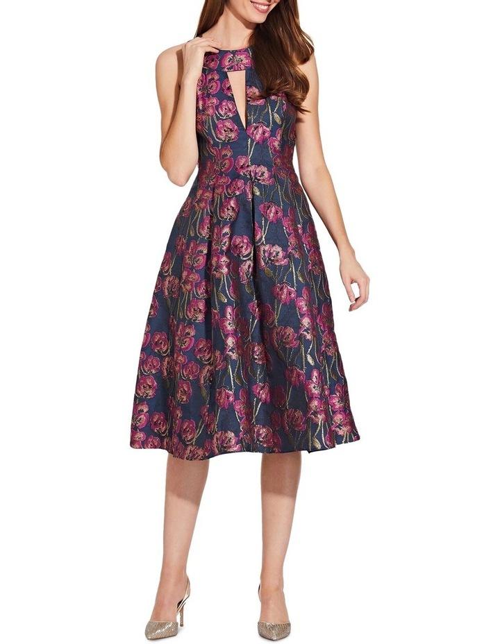 Metallic Jacquard Dress image 1