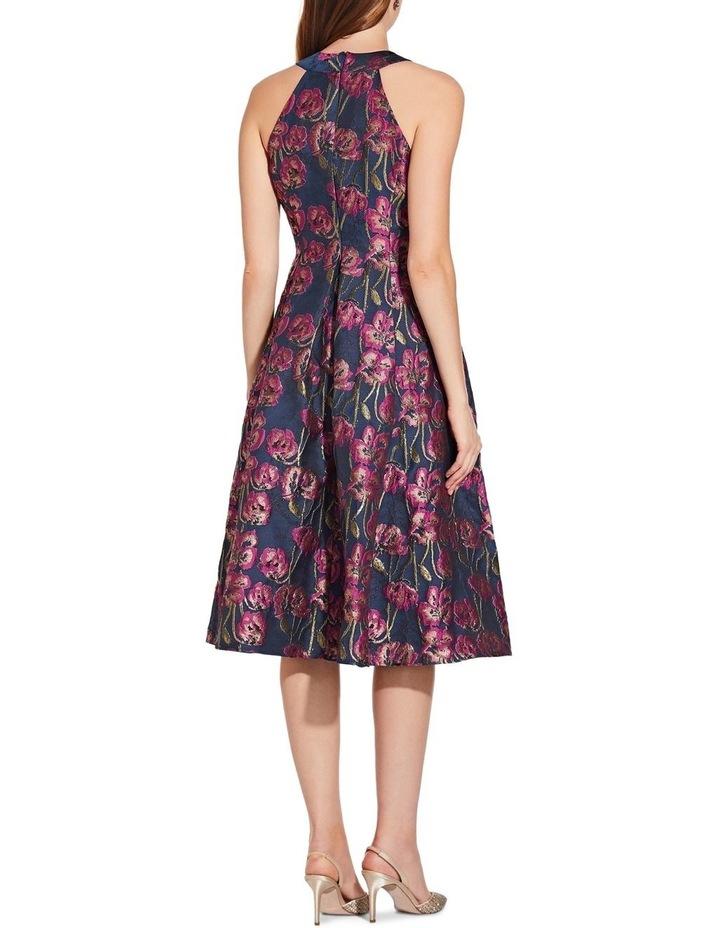 Metallic Jacquard Dress image 2