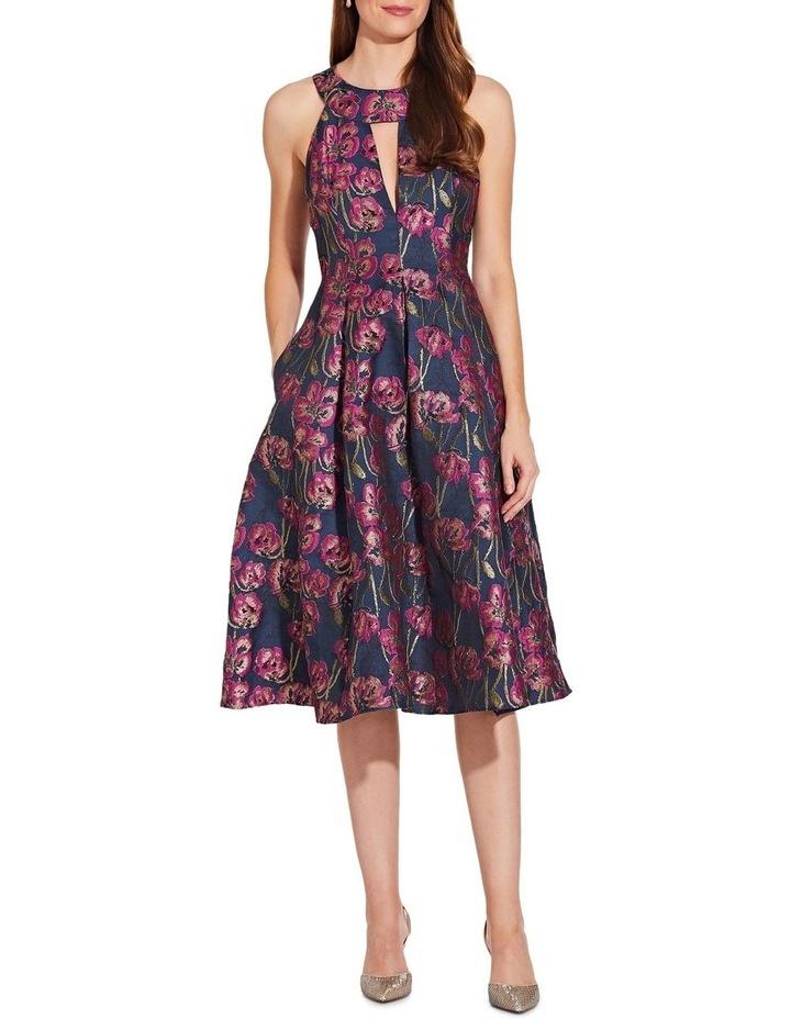 Metallic Jacquard Dress image 3