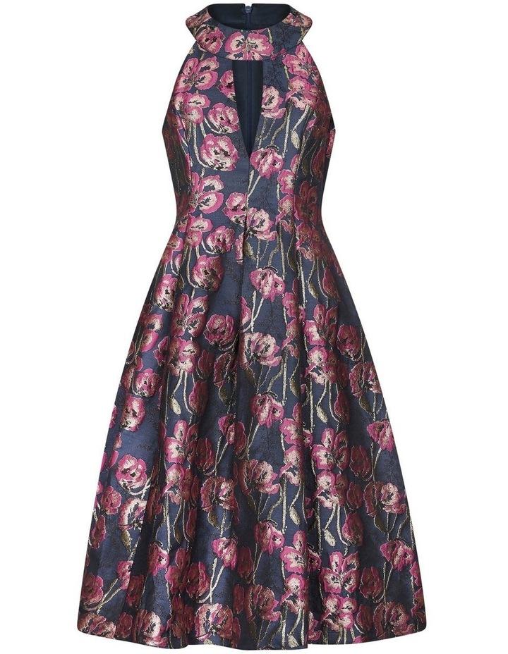 Metallic Jacquard Dress image 5