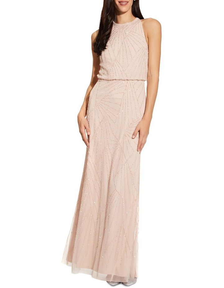 Halter Beaded Dress image 1