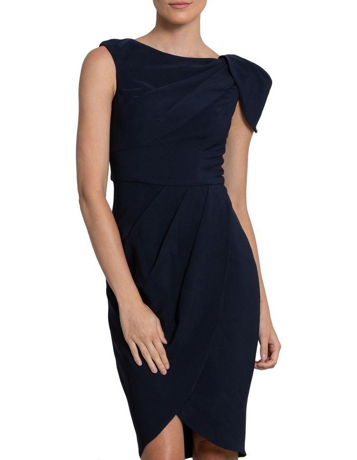 Nala Drape Cap Sleeve Dress image 1