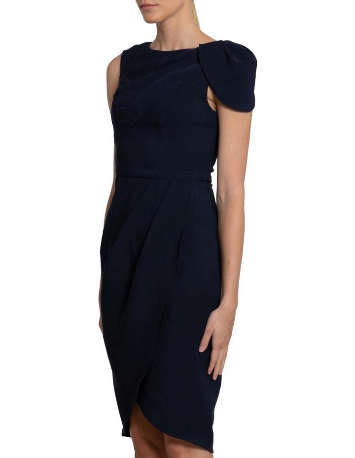 Nala Drape Cap Sleeve Dress image 2
