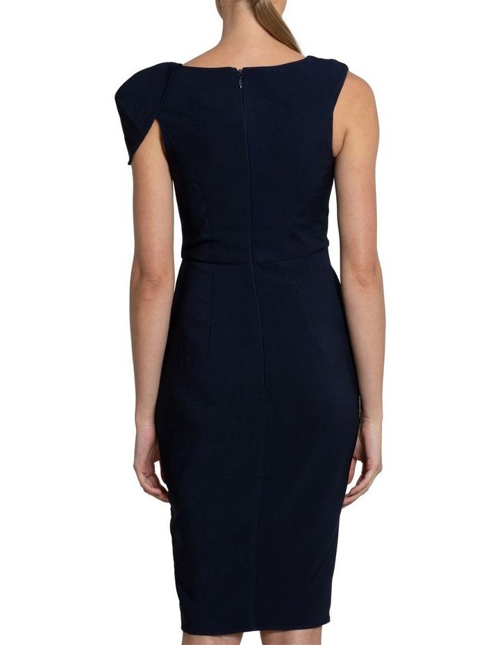 Nala Drape Cap Sleeve Dress image 3