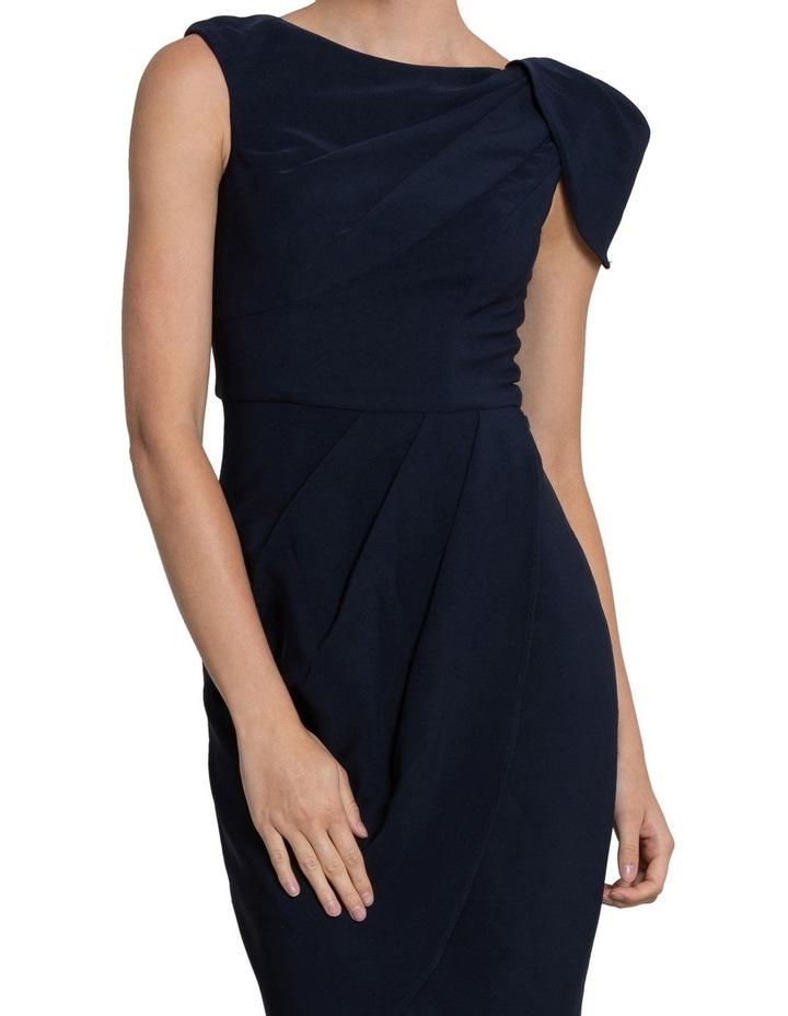 Nala Drape Cap Sleeve Dress image 4