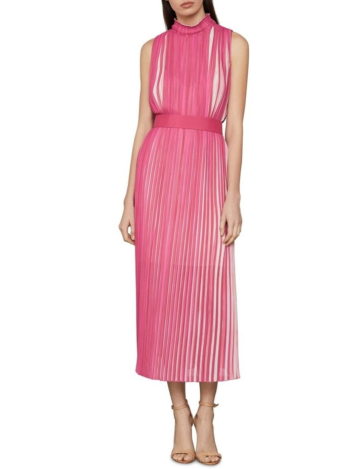 Pleated Midi Dress image 1