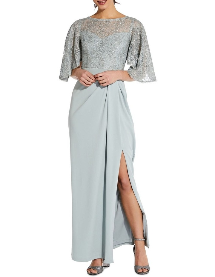 Flutter Sleeve Gown image 1