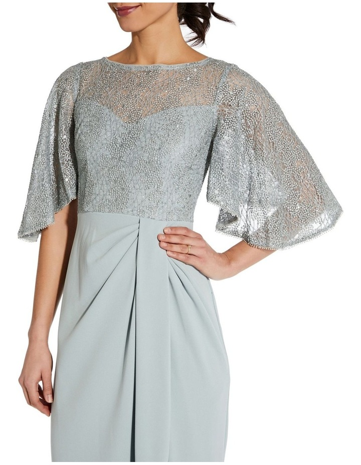 Flutter Sleeve Gown image 4