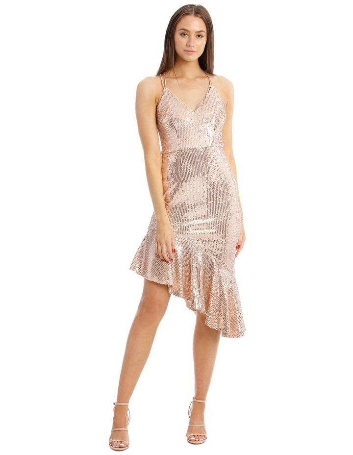 Lucille Asymmetric Frill Dress image 1