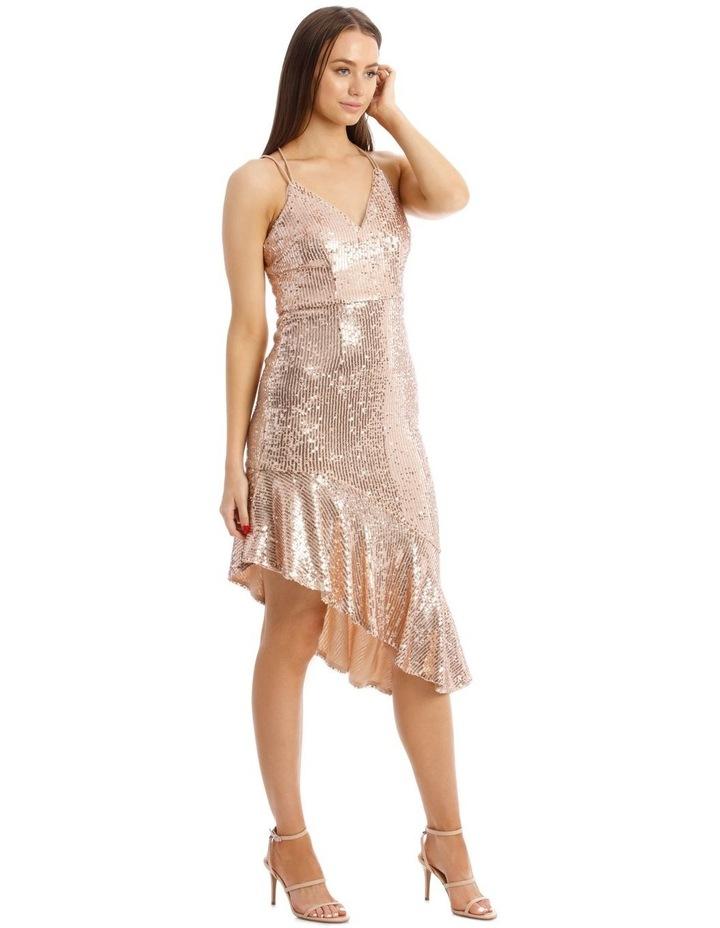 Lucille Asymmetric Frill Dress image 2