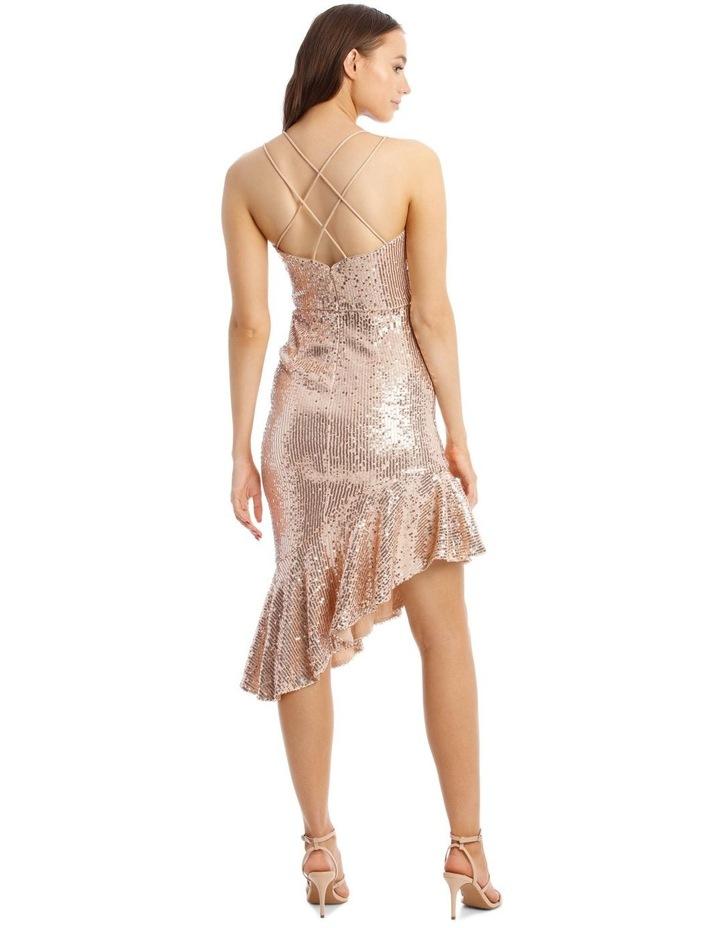 Lucille Asymmetric Frill Dress image 3