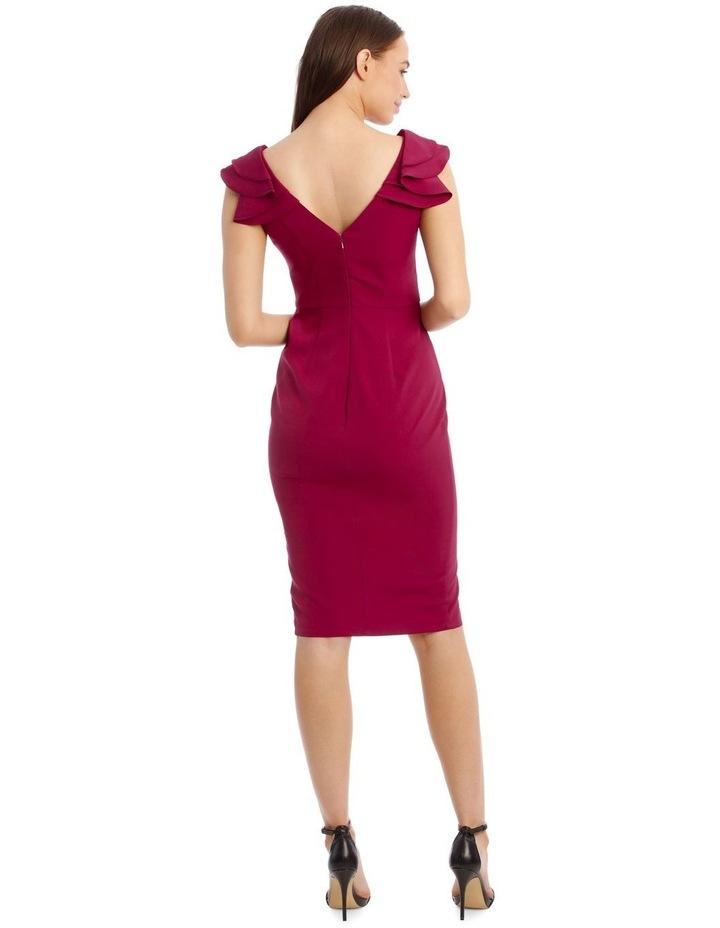 Leilani Frill Shoulder Midi Dress image 2