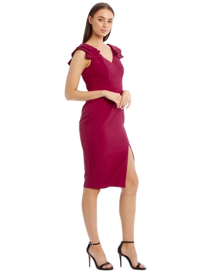 Leilani Frill Shoulder Midi Dress image 3