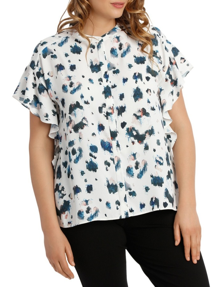 Angel Sleeve Blouse Print image 1