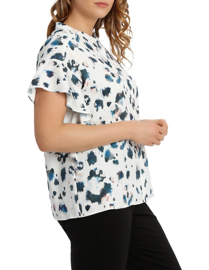Angel Sleeve Blouse Print image 2