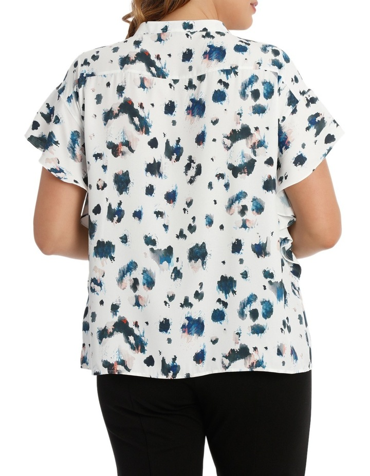 Angel Sleeve Blouse Print image 3
