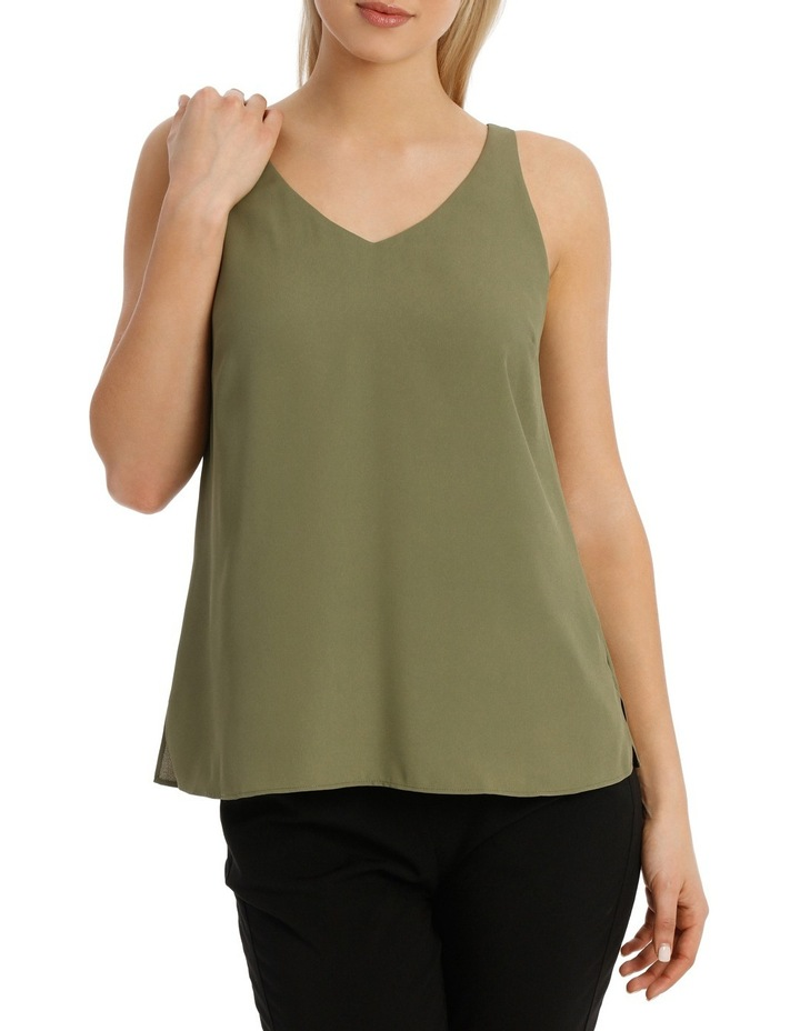 Double Layer Woven Cami image 1