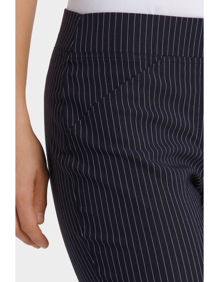 Essential Stretch Stripe Crop Pant image 4