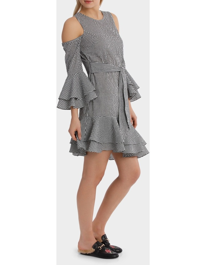Multi Ruffle Gingham Dress image 2
