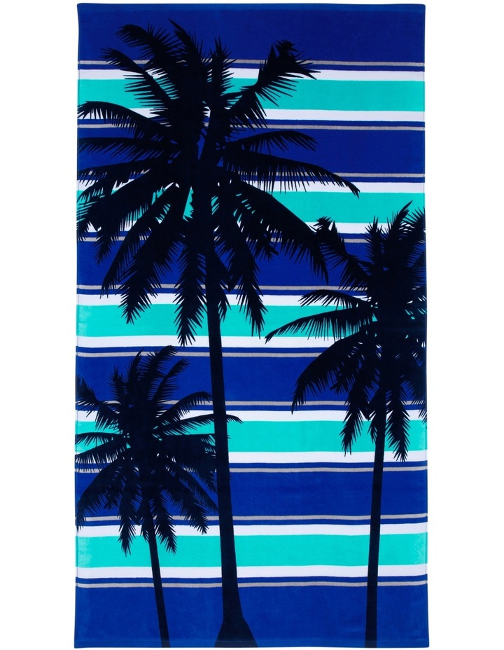 Harbour Cabo Frio Beach Towel in Blue image 1