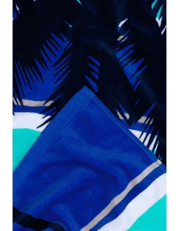 Harbour Cabo Frio Beach Towel in Blue image 2